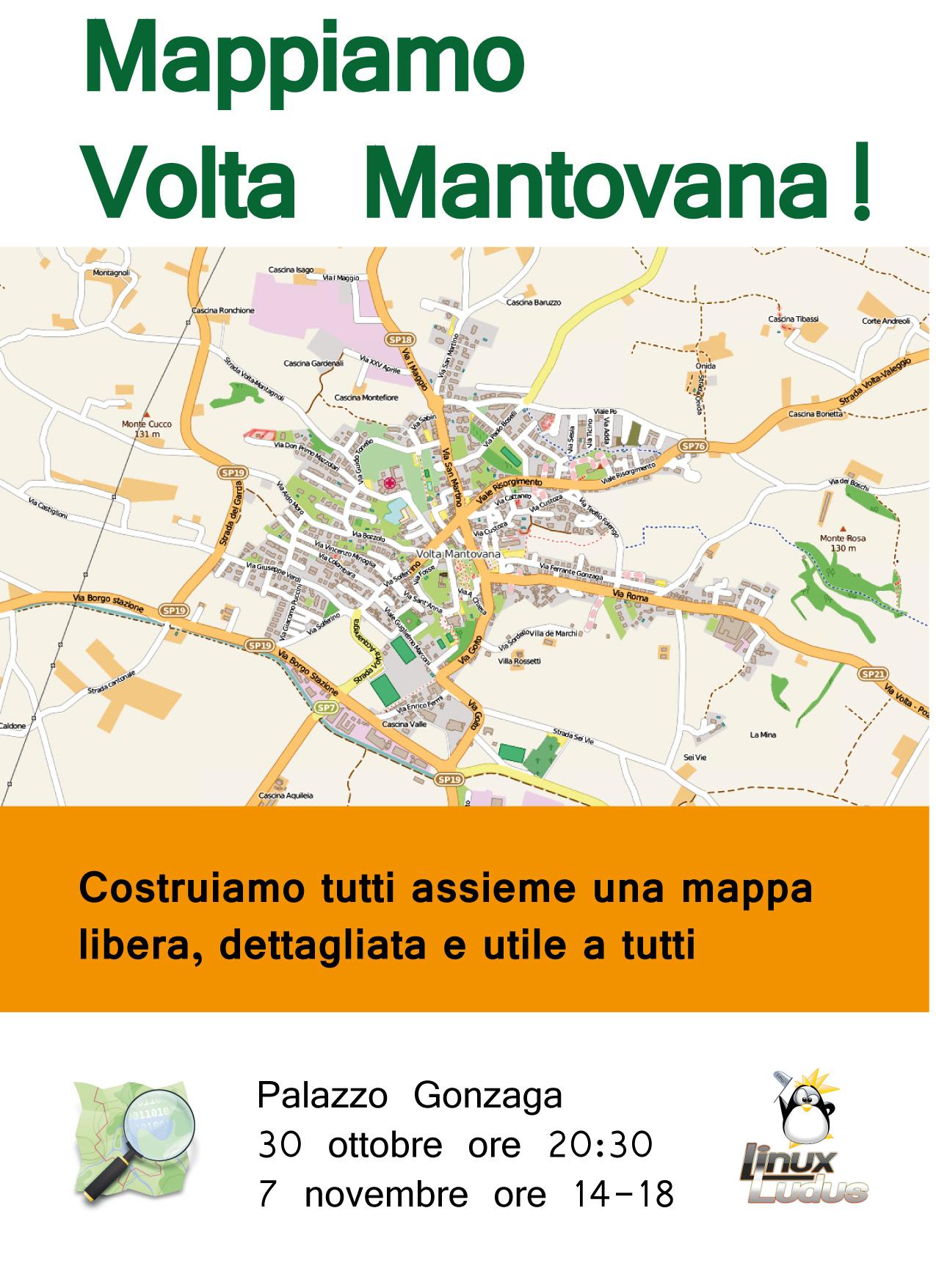 Locandina di Mappiamo Volta Mantovana 2015